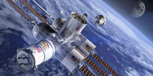 """Utsidan är som hämtad ur filmen """"Interstellar"""". Orion Span"""