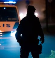 En polis.  Johan Nilsson/TT / TT NYHETSBYRÅN
