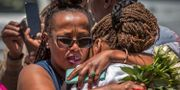 Anhöriga till offer som omkom i kraschen med ett Boeing 737-Max plan utanför den etiopiska huvudstaden Addis Abeba i mars i år.  Mulugeta Ayene / TT NYHETSBYRÅN/ NTB Scanpix