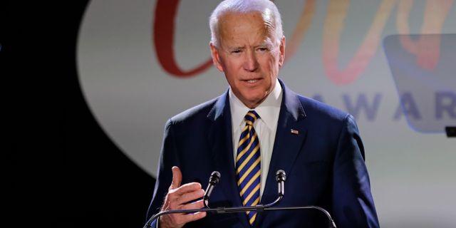 Joe Biden. Frank Franklin II / TT NYHETSBYRÅN/ NTB Scanpix