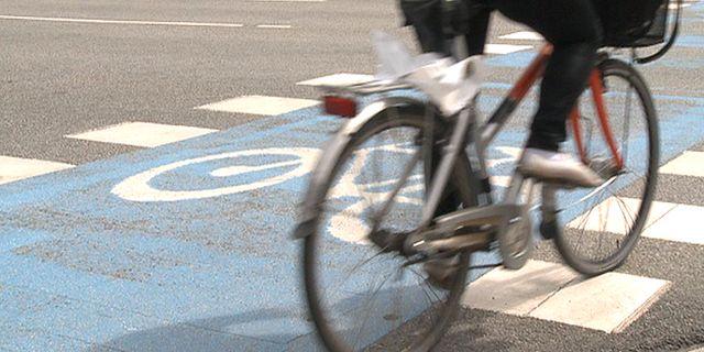 En cyklist/illustrationsbild. Erland Vinberg / TT NYHETSBYRÅN