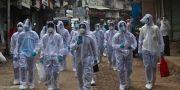 Hälsoarbetare i Indien. Rafiq Maqbool / TT NYHETSBYRÅN