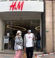 H&M i Shanghai. Chen Cici / TT NYHETSBYRÅN