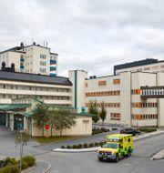 Ambulansintaget vid Akademiska sjukhuset i Uppsala Fredrik Persson /TT / TT NYHETSBYRÅN