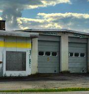 Nedlagd bensinstation i Sala.  Hasse Holmberg / TT / TT NYHETSBYRÅN