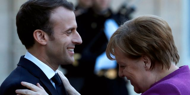 Arkivbild. Emmanuel Macron  Christian Hartmann / TT NYHETSBYRÅN