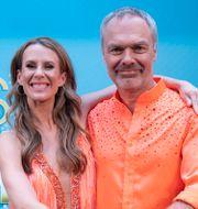 Dansare Cecilia Ehrling och Jan Björklund deltar i årets Let's Dance på TV4. Fredrik Sandberg/TT / TT NYHETSBYRÅN