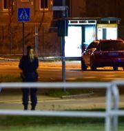 Mannen sköts sent på kvällen den 17 september. Pontus Stenberg/TT / TT NYHETSBYRÅN