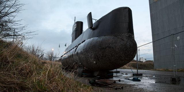 Nautilus. Johan Nilsson/TT / TT NYHETSBYRÅN