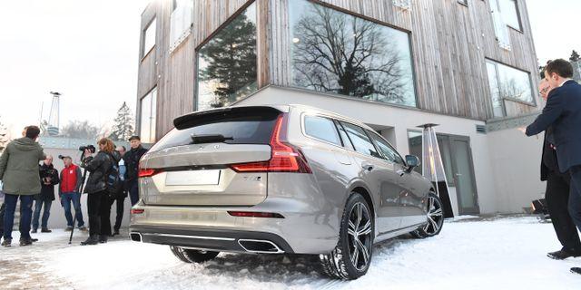 Volvos nya kombi V60. Arkivbild. Henrik Montgomery/TT / TT NYHETSBYRÅN