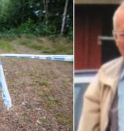 Brottsplatsen/Gert-Inge Bertinsson. TT/Polisen