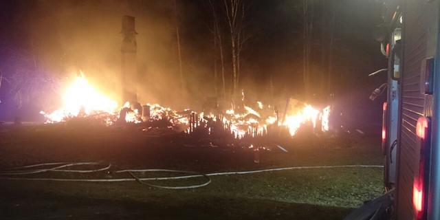 Tolvaring omkom i villabrand