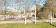 Skogshöjdens skola i Trollhättan. Skärmdump från Google Maps.