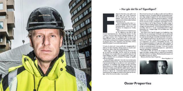 Oscar Engelbert, annonsen. SvD/TT / Skärmdump