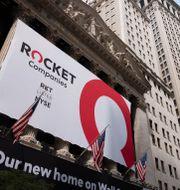 Rocket Companies gick till börsen i augusti förra året. Mark Lennihan / TT NYHETSBYRÅN