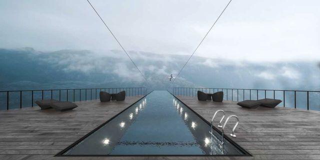 Skulle du våga bada i denna pool? Hayri Atak Architectural Design Studio