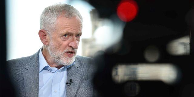 Labour-ledaren Jeremy Corbyn. HANDOUT / TT NYHETSBYRÅN