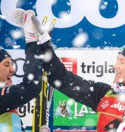 Linn Svahn och Maja Dahlqvist. MATIC KLANSEK / BILDBYRÅN
