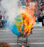 Klimatprotest i Milano 2019. Nicola Marfisi / TT NYHETSBYRÅN