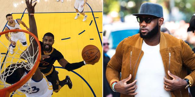 Golden State Warriors, NBA-finalen i Oakland/LeBron James. TT