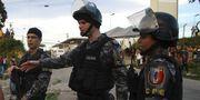 Brasiliansk polis.  TT