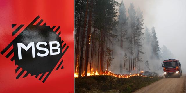 MSB/Skogsbrand i Ljusdal TT