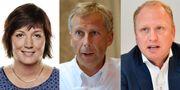 Petra Einarsson, vd,Billerud Korsnäs, Lennart Evrell, före detta vd,Boliden och Henrik Henriksson, vd, Scania.