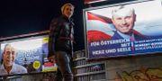 Valaffischer i Österrike JOE KLAMAR / AFP