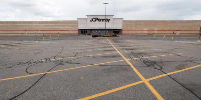 JC Penney i Roseville, Michigan. Paul Sancya / TT NYHETSBYRÅN