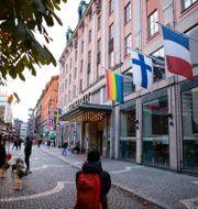Haymarket på Hötorget som ägs av Scandic Hotels.  Alexandra Bengtsson/SvD/TT / TT NYHETSBYRÅN