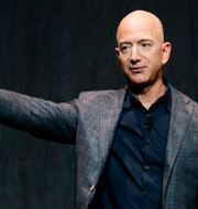 Bezos.  Patrick Semansky / TT NYHETSBYRÅN