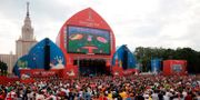 "Fifas ""fan zone"" under VM. Arkivbild.  MAXIM ZMEYEV / AFP"