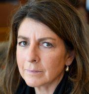 Bettina Kashefi, chefekonom på Svenskt Näringsliv.  Jessica Gow/TT / TT NYHETSBYRÅN