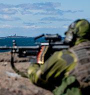 Arkivbild, militärövning i Göteborgs skärgård. Adam Ihse  / TT / TT NYHETSBYRÅN
