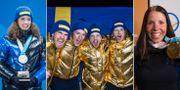 Våra svenska skidstjärnor dominerar bland Jerringprisnomineringarna. Bildbyrån/TT