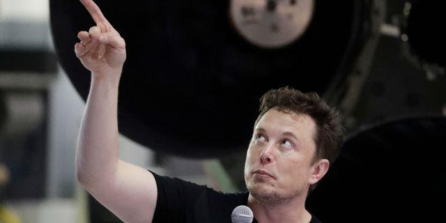 Arkivbild: Elon Musk.  Chris Carlson / TT NYHETSBYRÅN