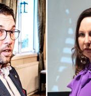Jimmie Åkesson / Cecilia Garme. TT