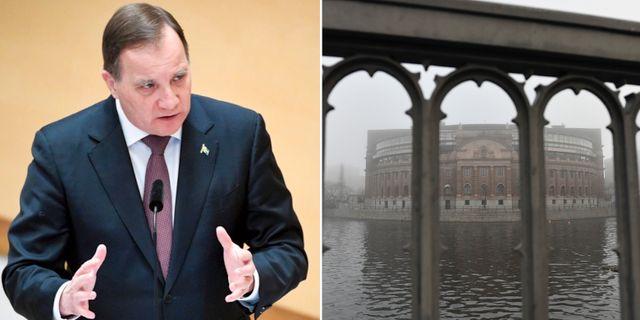 Stefan Löfven/Riksdagshuset TT