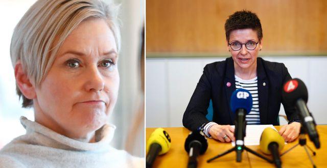 Anna Johansson / Ann-Sofie Hermansson.  TT