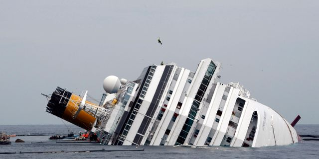 Concordia offren hedras i italien 1