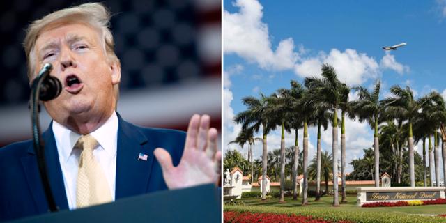 Donald Trump / Golfklubben Doral i Miami. TT / AFP