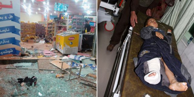 Over 200 doda i kinesiskt jordskalv