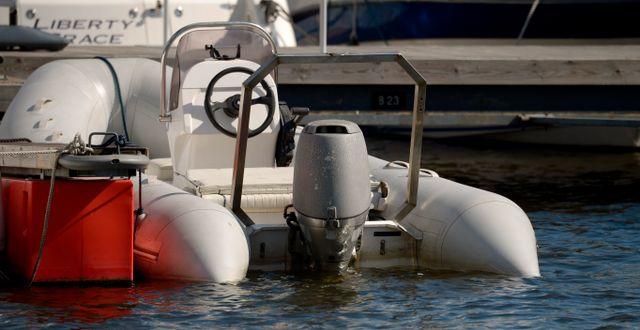 Illustrationsbild: Annan typ av båtmotor. JANERIK HENRIKSSON / TT / TT NYHETSBYRÅN