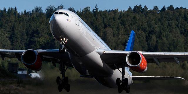 Boeingplan. Johan Nilsson/TT / TT NYHETSBYRÅN