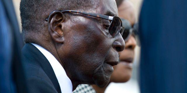 Robert Mugabe. Tsvangirayi Mukwazhi / TT / NTB Scanpix