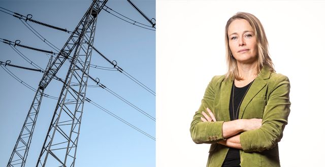 Lina Håkansdotter, avdelningschef för Hållbarhet och infrastruktur, Svenskt Näringsliv.  TT/Pressbild