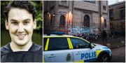 Joar Forssell/Synagogan i Göteborg efter attacken Dennis Lindbom/TT