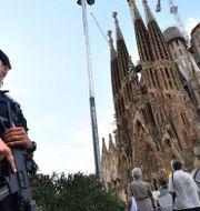 Kyrkan Sagrada familia är en turistmagnet i Barcelona.  PASCAL GUYOT / AFP