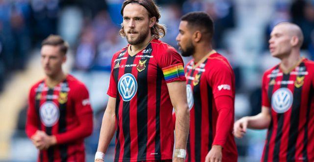 Tom Pettersson, lagkapten i ÖFK 2019.  MICHAEL ERICHSEN / BILDBYRÅN