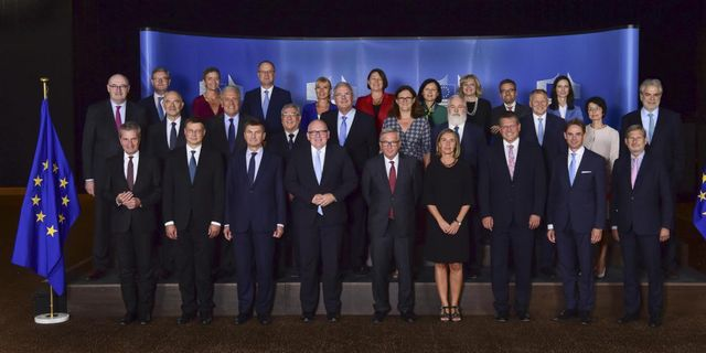 EU-kommissionen år 2017. Press